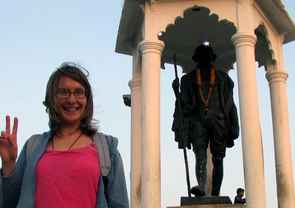 Lisa en Inde