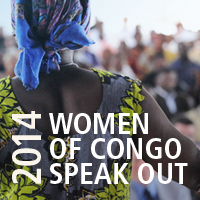 2014 Women of Congo Speak Out
