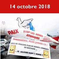 14 octobre 2018 à Crozon
