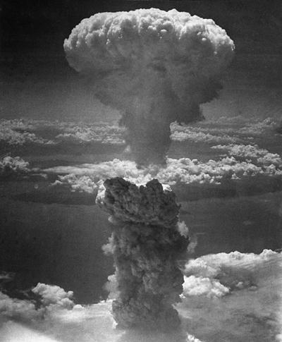 La bombe à Hiroshima