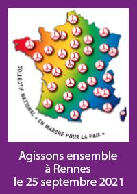 marchons ensemble le 25 septembre 2021 à Rennes