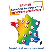 En marche pour la paix le 24 septembre 2016