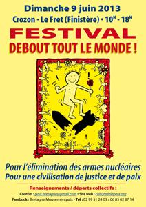 Affiche Festival Debout Tout le Monde