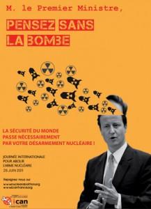 David Cameron, pensez sans la bombe!