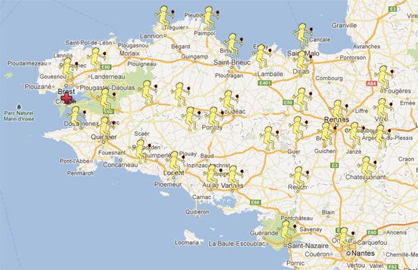 Carte du Festival Debout Tout le Monde