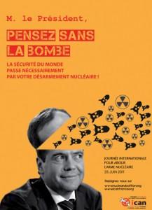 Dmitry Medvedev, pensez sans la bombe!