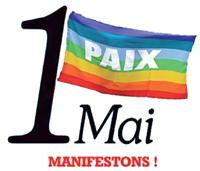 1 mai, manifestons pour la paix !