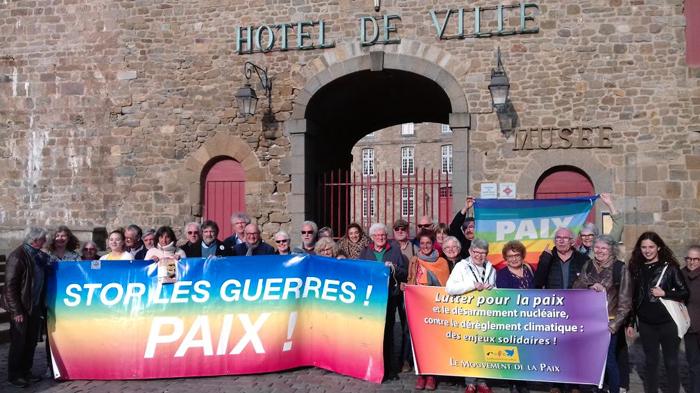 Une partie des participants au séminaire de St-Malo le 31 mars 2019