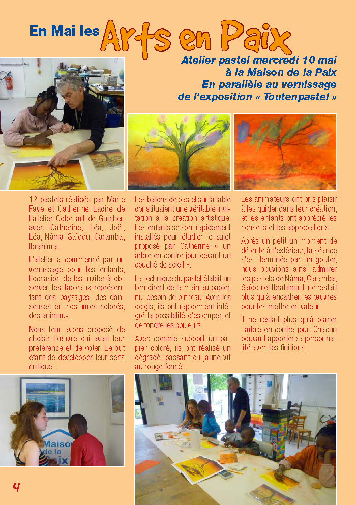 Galicie croque la vie - En mai les Arts en Paix
