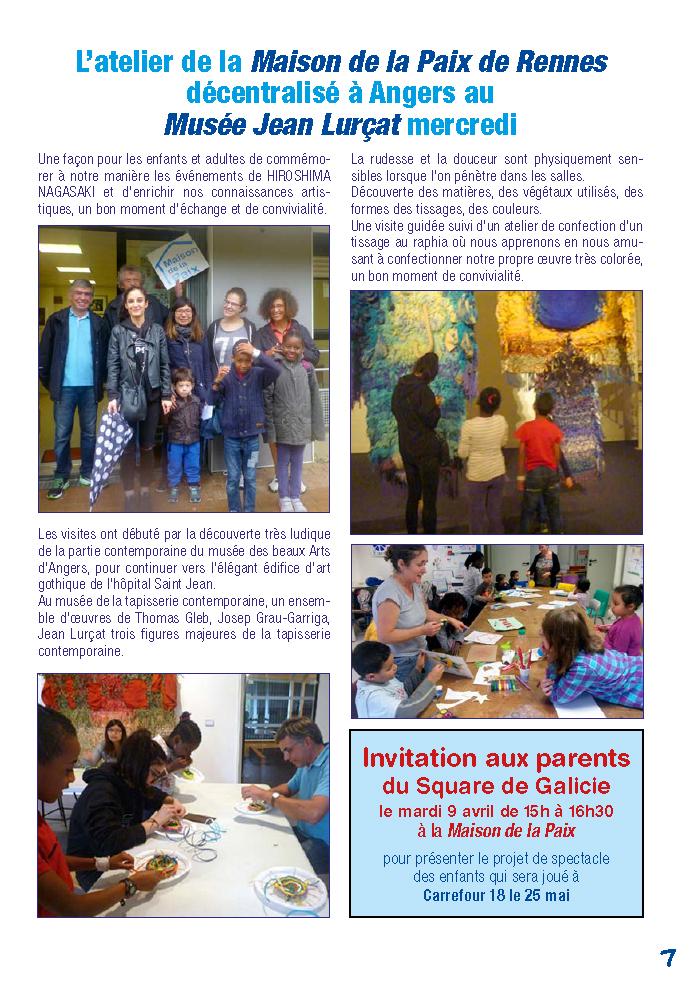 Galicie croque la vie - visite au Musée Jean Lurçat