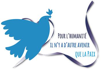 pour l'humanité il n'y a d'autre avenir que la paix