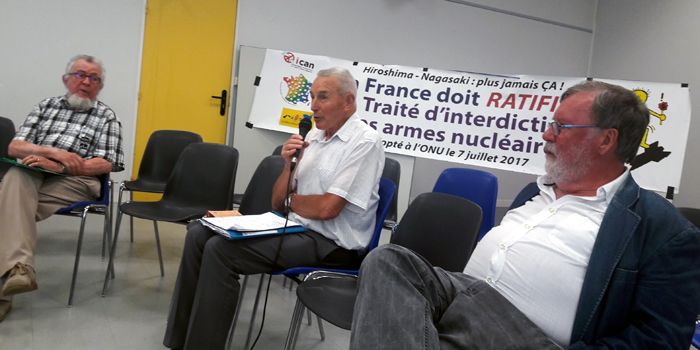 Yves Jardin (AFPS), Jean Miossec (4ACG), Roland de Penaros (UEP)