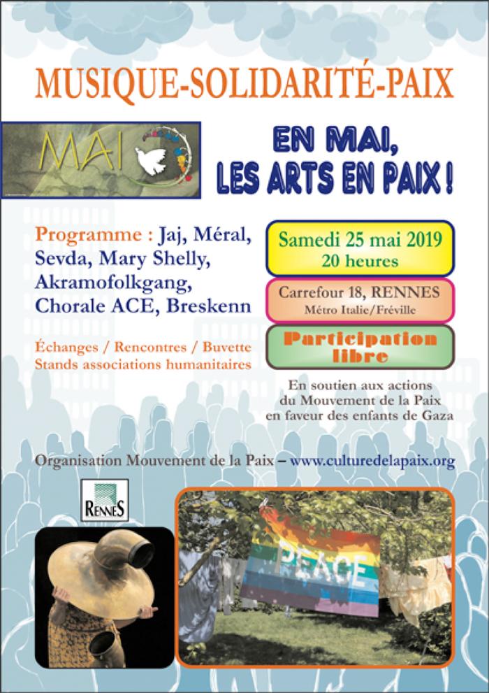 concert musique-solidarité-paix, le 25 mai 2019 à Carrefour 18