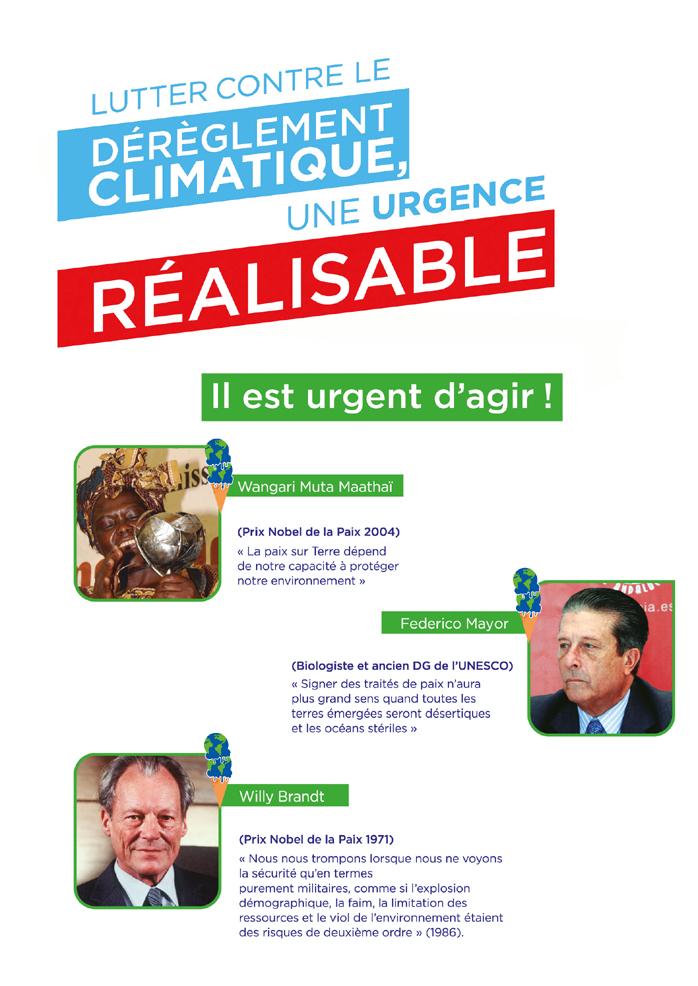 lutter contre le dérèglement climatique, une urgence réalisable