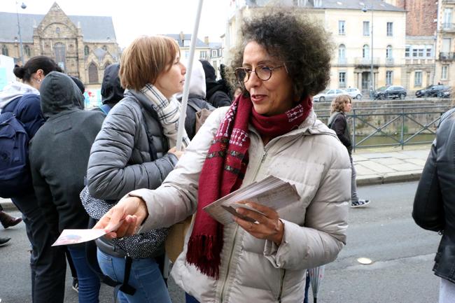 On a tracté le 8 mars lors de la marche pour les droits des femmes