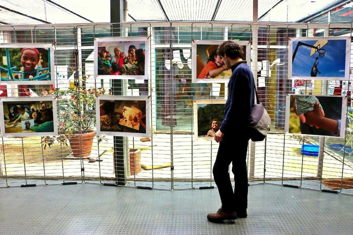 l'exposition Quartiers en Paix au Carrefour 18