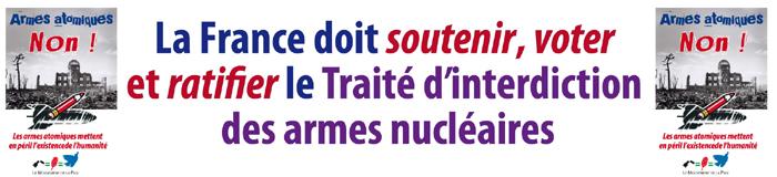France doit soutenir voter et ratifier le TIAN