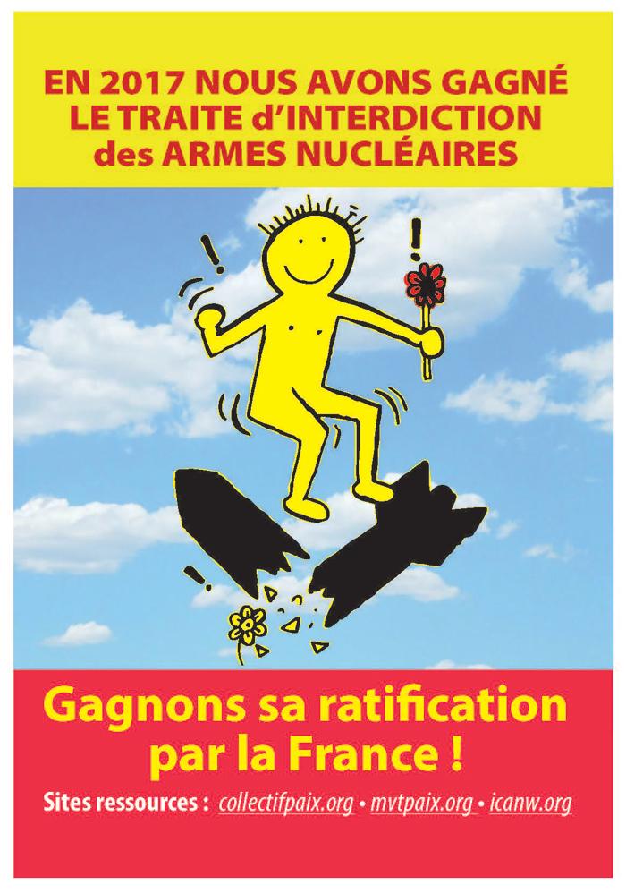 Gagnons l'interdiction des armes nucléaires en France