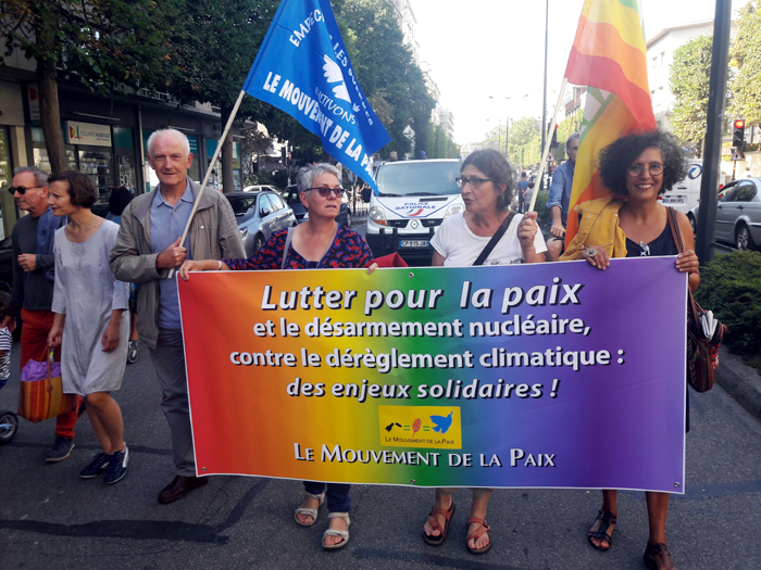 la marche pour le climat à Rennes