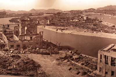 Hiroshima devastée